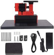 Mini máquina de Rompecabezas Mini Torno de Sierra Mini Sierra de Mesa Mini Herramienta eléctrica de Sierra de calar,Jadpes Mini Jigsaw Machine DIY Power Tool, 24W 20000rpm Jigsaw electrochapado de a