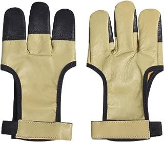 Universe Archery Handmade Kangaroo Leather Three Finger Archery Glove - 1 Piece - Standard Size