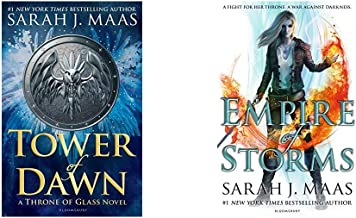 Tower of Dawn (Throne of Glass)+Empire of Storms (Throne of Glass) (Set of 2 Books)