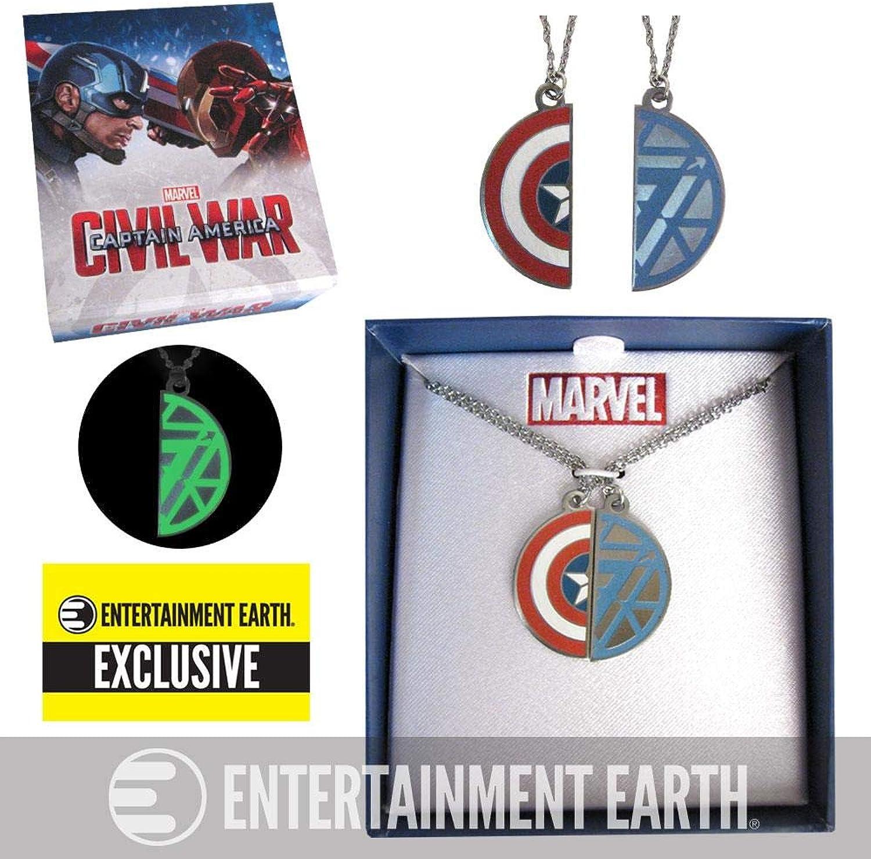 Captain America  Civil War BFF Necklace Set - EE Exclusive