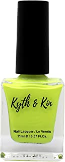 Kyth & Kin Super Hi-Gloss Nail Polish, Electric Lime - 50, 11 ml