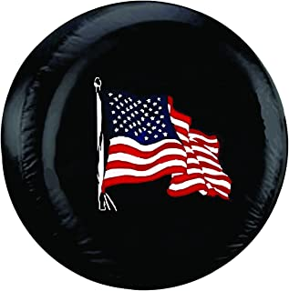Best distressed american flag tire cover Reviews