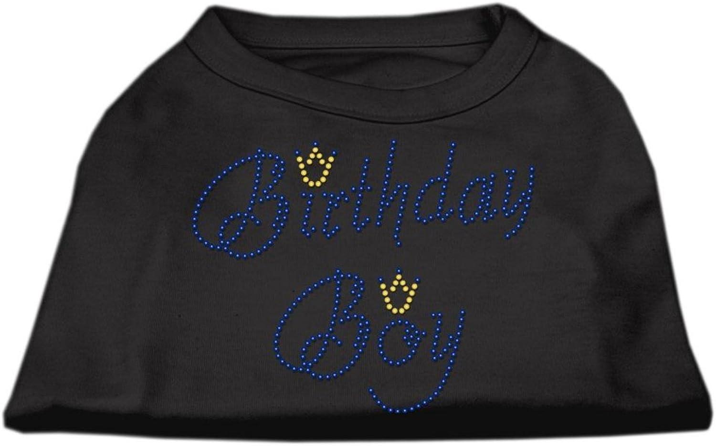 Dog   Cat   Pet Charms Birthday Boy Rhinestone Shirts Black XL (16)