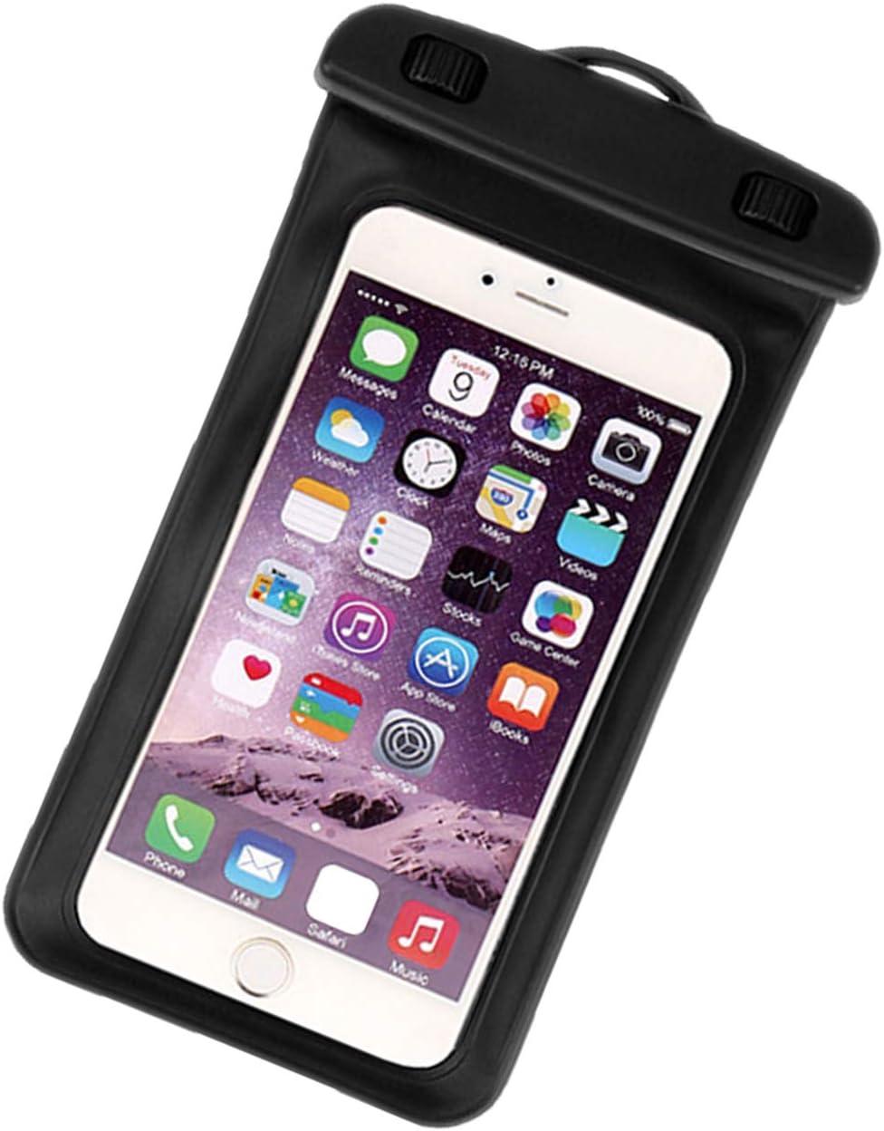 queenfoot Universal Waterproof Case, IPX8 Waterproof Pouch Cellphone Dry Bag Compatible iPhone 12