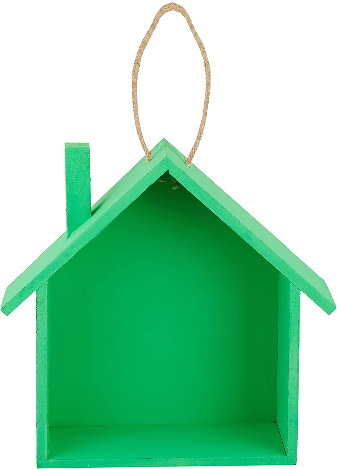 Green Hanging 67% OFF of Quality inspection fixed price Bird House for Birdhouses residen Outside Garden -