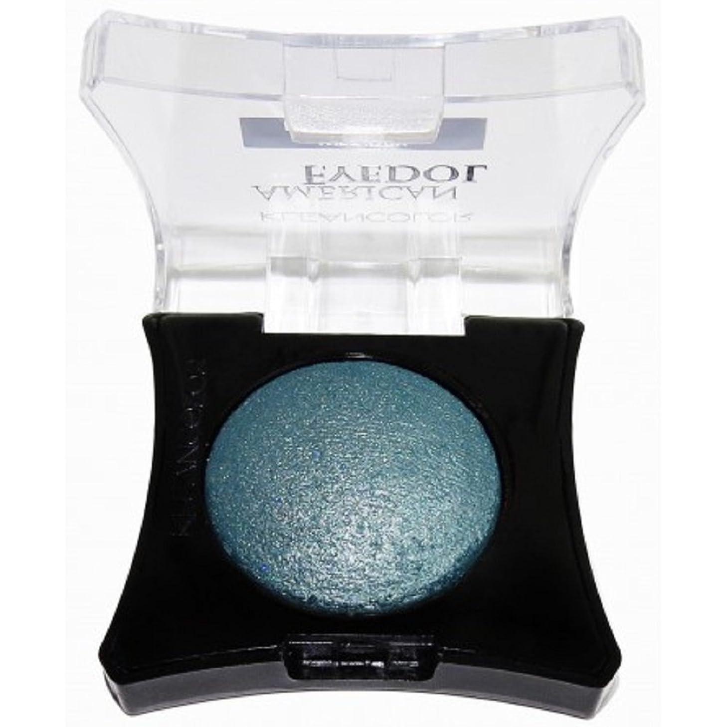 裸イデオロギー知的KLEANCOLOR American Eyedol (Wet/Dry Baked Eyeshadow) - Glitter Teal (並行輸入品)