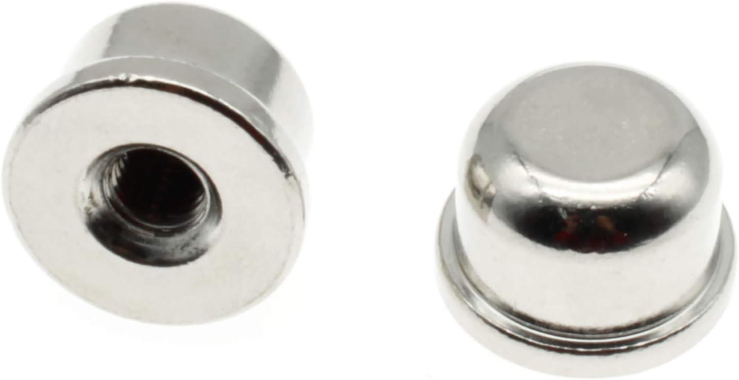 1 Super intense SALE 4-27 Lamp Finials Caps Tap Max 68% OFF FDXGYH 2pcs Solid