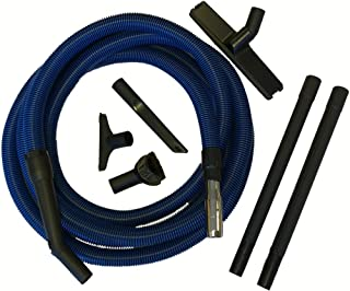 WalVac Stow-A-Vac Boat RV Yacht Trailer Garage Compact Central Vacuum Cleaner System (24' Vacuum Hose & Accessories Kit)