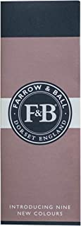 Farrow & Ball colour chart (color swatches)
