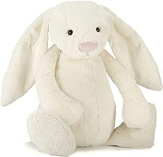 Jellycat Bashful Cream Bunny Stuffed Animal, Really Big, 31 inches