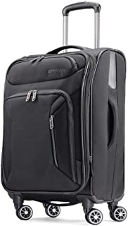 American Tourister Zoom Softside Luggage with Spinner Wheels