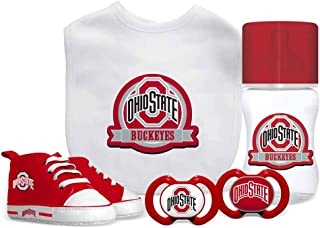 Baby Fanatic NCAA Ohio State Buckeyes Infant and Toddler Sports Fan Apparel