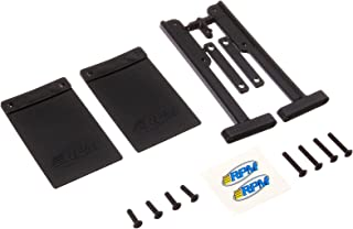 RPM 81012 Mud Flaps Bumper Slash Black