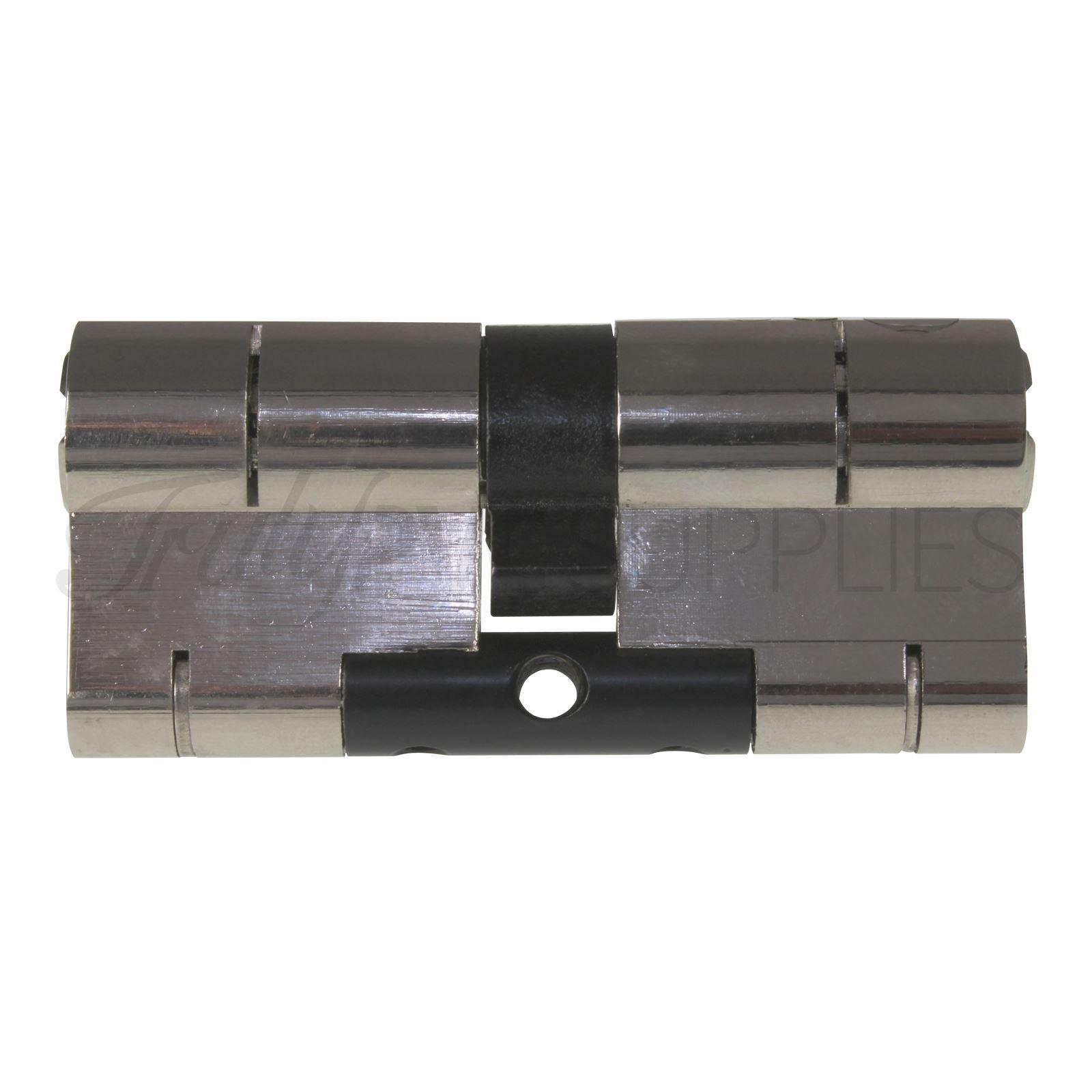 40//50/Yale Superior cilindro Euro lat/ón anti Snap//Bump//Pick//taladro//Pull alta seguridad UPVC compuesto puerta barril cerradura de perfil Extra opci/ón clave