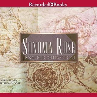 Sonoma Rose audiobook cover art