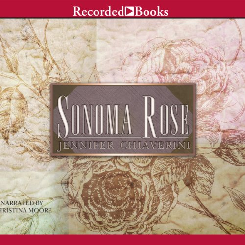 Sonoma Rose audiobook cover art