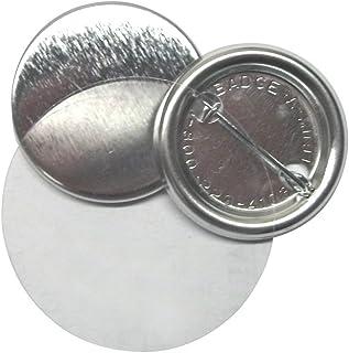 "Badge-A-Minit 3061-C 1 1/4"" Genuine Badge-A-Minit Pin-Back Button Sets - 100 Sets"