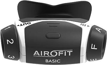Airofit Basic ademtrainer, traint spieren van de luchtwegen, meet ademvolume en ademkracht, verhoogt fysieke prestaties, v...