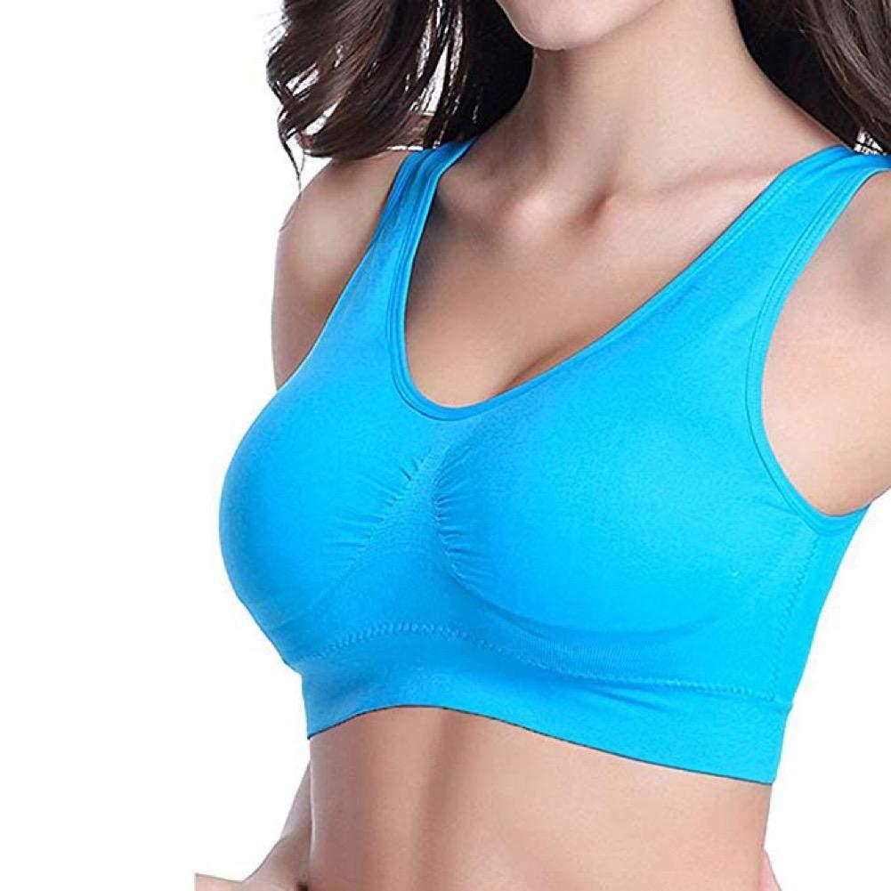 Womens Seamless Comfort Bra Comfy Shapewear Sport Stretch Crop Top Vest Support