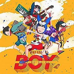 King Gnu「BOY」のCDジャケット