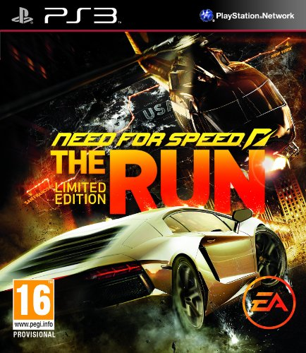 Electronic Arts Need for Speed: The Run (Limited Edition), PS3 vídeo - Juego (PS3, PlayStation 3, Racing)