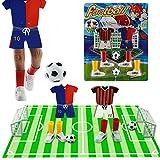 Goolsky Mini Juego de Fútbol Finger Toy Football Match Juego de Mesa Divertido con Dos Objetivos Copa del Mundo
