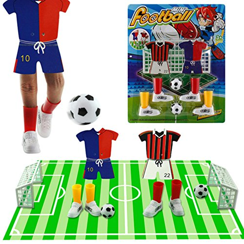 Docooler Mini Soccer Game Finger Toy Football Match Funny Table Game Set with Two Goals