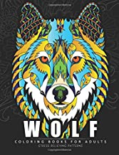 Wolf Coloring books for adults: Amazing Wolves Design (Animal Coloring Books for Adults)