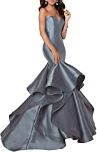 Prom Dress Long Evening Gown Mermaid Trumpet Prom Gown Strapless Sweetheart Evening Dress