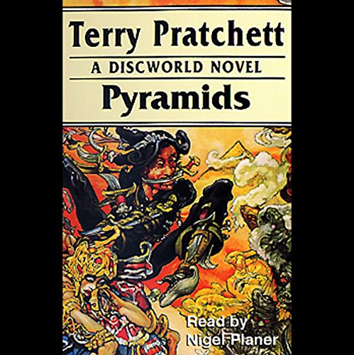 Pyramids audiobook cover art