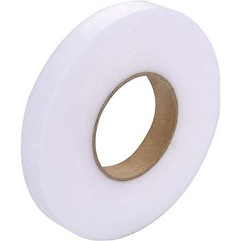 Shuang 4 Rouleaux Bande dOurlet,Bande Thermocollante Rapide Double Face pour Tissu Rideaux 10 mm et 15 mm Vetement,Pantalon,Jeans
