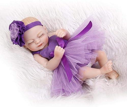 precios bajos Hongge Reborn Baby Baby Baby Doll,Vinilo de Silicona regenerado del cumpleaños Regalo Juguetes los Niños de bebé muñeca Realista bebé muñeca Realista Princesa niñas 25cm  alta calidad