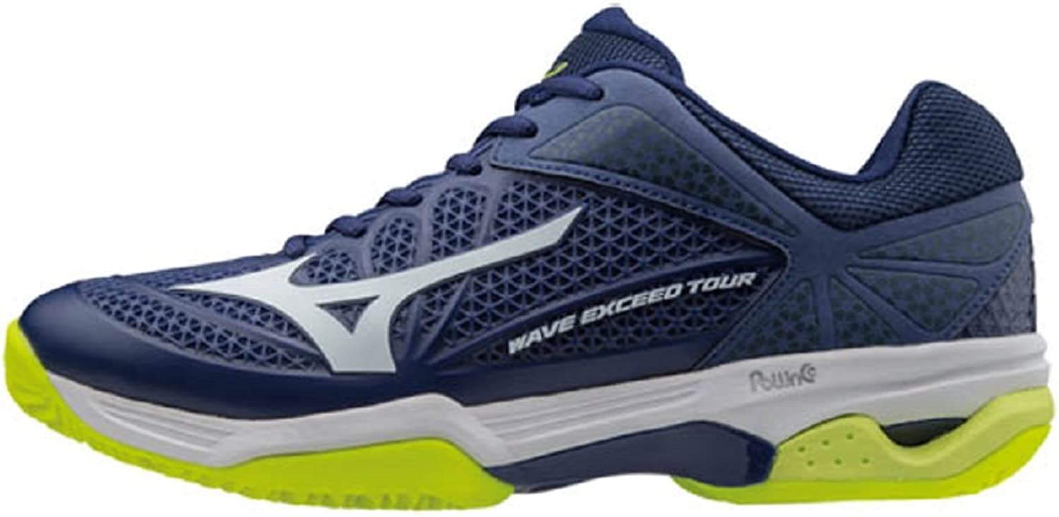 Mizuno Wave Exceed Tour 2 CC bluew tennisschoenen heren