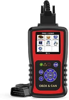Kzyee KC301 Code Reader, Car OBD2 Scanner with Live Data/Emission Monitor Status/O2 Sensor Data/Mode 6, Diagnostic Scan Tool for Check Engine Light Reset