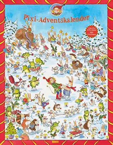 Pixi Adventskalender 2016: jetzt mit 2 x Pixi-kreativ, 2 x Maxi-Pixi und 20 Pixi-Büchern