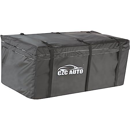 MAXXHAUL 70209 Hitch Mount Waterproof//Rainproof Cargo Carrier Bag 47 x 20 x 20
