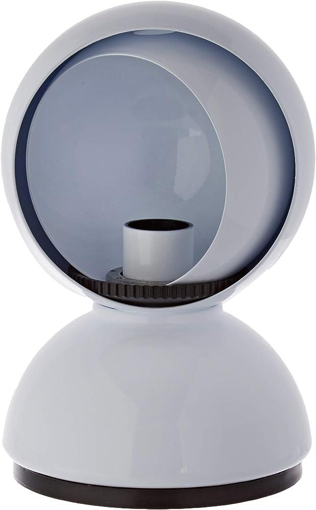 Artemide eclisse,lampada da tavolo alogena 25w 0028010A