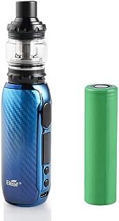 イーリーフ iStick Rim C スターターキット + 4ml MELO 5 アトマイザー ECコイル 電子タバコ Vape【18650 バッテリー付き】 (Gradient Blue)