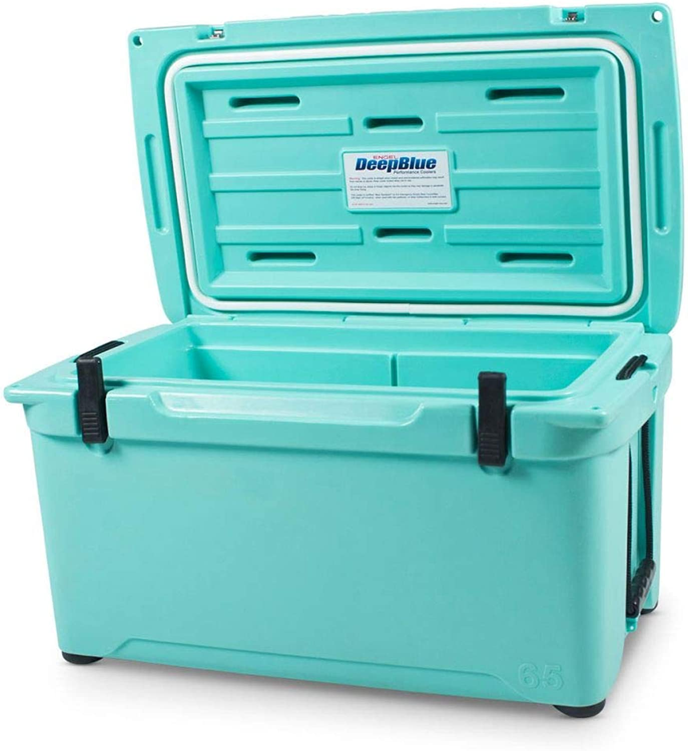 Engel 65 High Performance 14.5 Gallon 70 Can redo Molded Ice Cooler, Seafoam