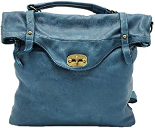 DDMilano Genuine Leather Italian Backpack for Men and Women