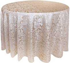 Best damask tablecloth round Reviews