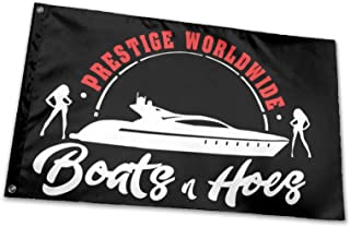 hlhhing Prestige Worldwide Boats & Hoes Step Brothers Flag Outdoor Decoration Banners (3 X 5 Ft)