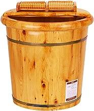 ZUOANCHEN Foot Tub, Cypress Wood Foot Basin Tub Bucket For Foot Bath, Massage, Spa, Sauna, Soak,foot Bath Wooden Bucket Foot Spa Household Wash Basin