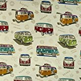 Gobelinstoff Hippie Bus Dekostoffe Innenraum-Ausstattungen