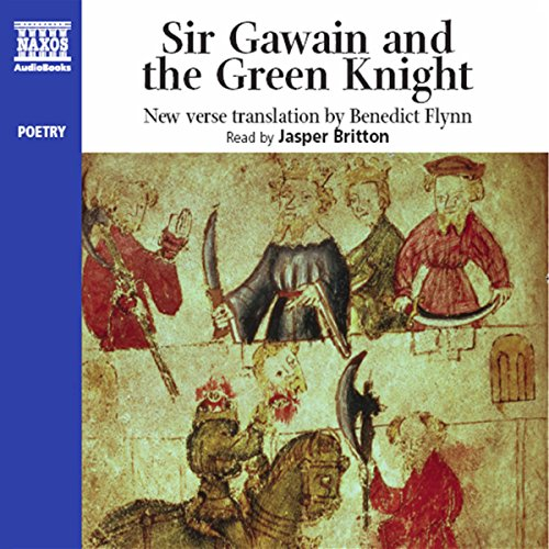 Sir Gawain & the Green Knight     New Verse Translation              By:                                                                                                                                 Naxos AudioBooks,                                                                                        Benedict Flynn (translator)                               Narrated by:                                                                                                                                 Jasper Britton                      Length: 2 hrs and 14 mins     34 ratings     Overall 4.4