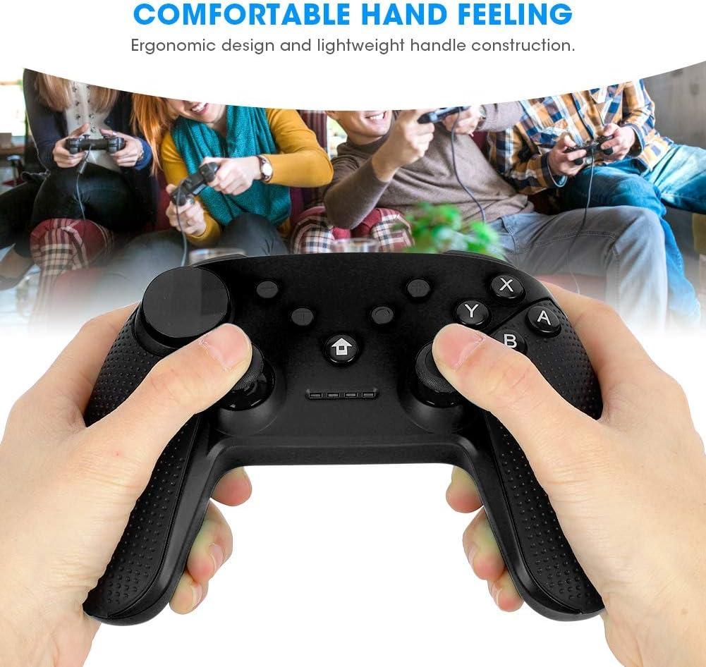 Gr/ün Wireless Bluetooth Game Handle PC Game Controller Joystick Vibration Controller Gamepad mit NFC-Funktion f/ür Switch ASHATA Game Handle