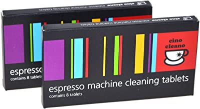 NEW CAFETTO CINO CLEANO CLEANING TABLETS 2 PACK Espresso Coffee Machine Cleaner