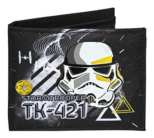 Undercover SWOP7720 Geldbörse, Star Wars Galaxy, ca. 11 x 9 x 1,5 cm