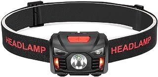 【充電式ヘッドライト】 LEDヘッドランプ 防水