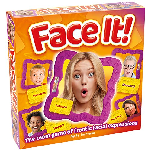 Drumond Park Face It | The Family Game of Guessing Expressions! Family Board Games For Kids | Party Games Suitable for Adults and Children Aged 8 9 10 11 12+ Years